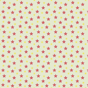 Red and Yellow Stars (medium)