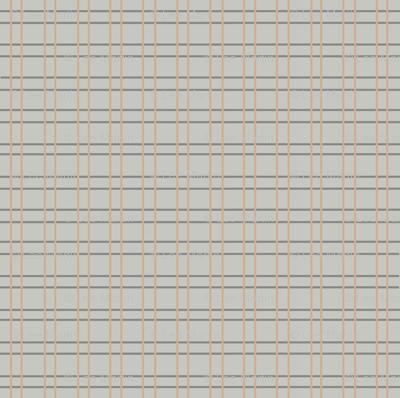 Stripes - Dark Grey and Orange