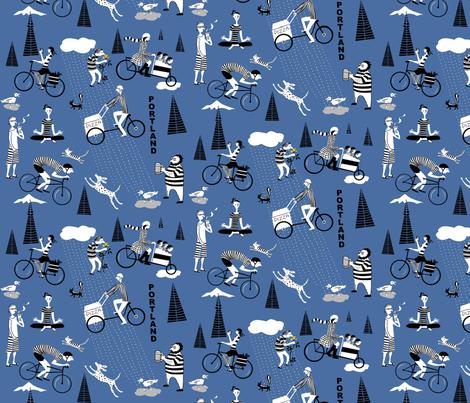 portland_pedal fabric by antoniamanda on Spoonflower - custom fabric