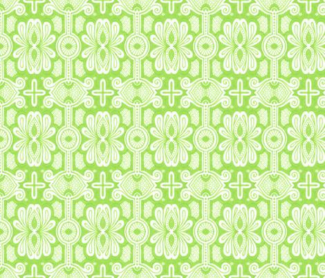 Spring Spider fabric by siya on Spoonflower - custom fabric