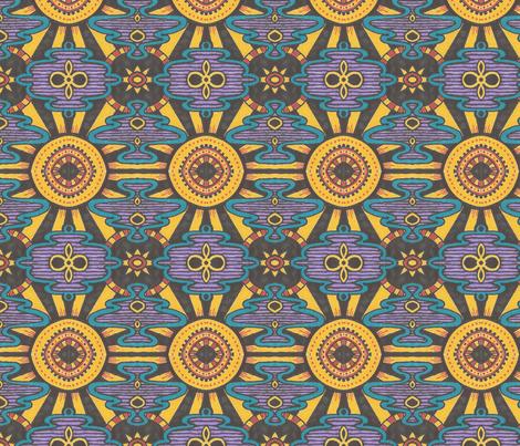 Mexican Sun fabric by siya on Spoonflower - custom fabric