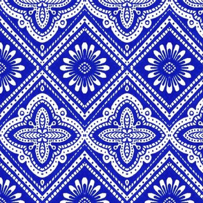 Blue Daisy Diamonds