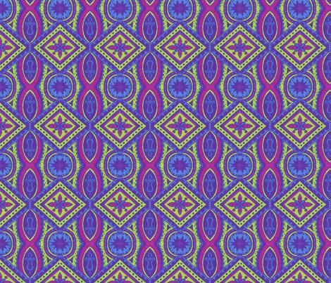 Neon Jenny fabric by siya on Spoonflower - custom fabric