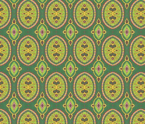 Green Lies fabric by siya on Spoonflower - custom fabric