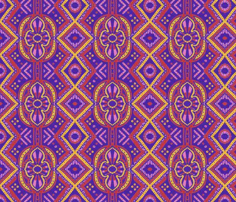Bucharest fabric by siya on Spoonflower - custom fabric