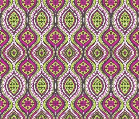 Wonderland Garden fabric by siya on Spoonflower - custom fabric