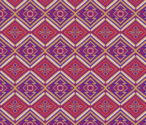 Arizona Diamonds fabric by siya on Spoonflower - custom fabric