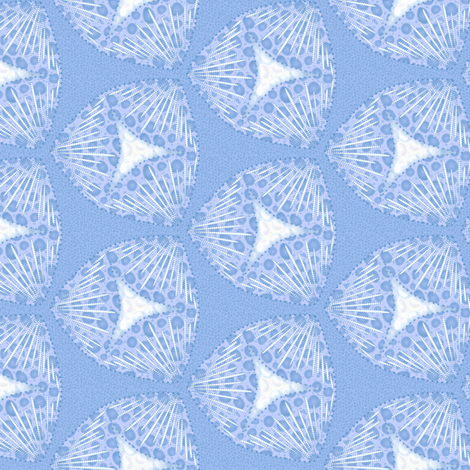 scales iceberry fabric by glimmericks on Spoonflower - custom fabric