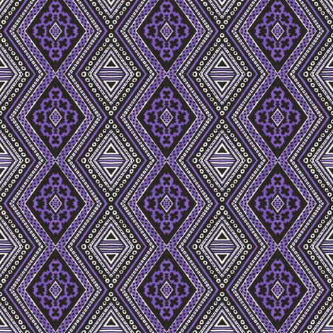 Ultraviolet Diamonds fabric by siya on Spoonflower - custom fabric