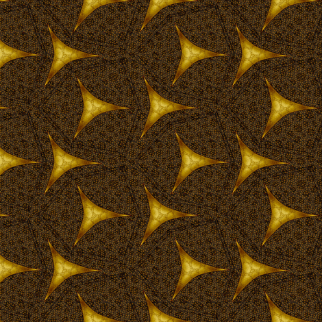 geometric shagreen gilded leather fabric by glimmericks on Spoonflower - custom fabric