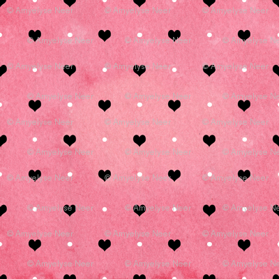 Hearts And Dots Swiss
