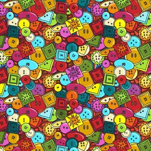 Graffiti Buttons