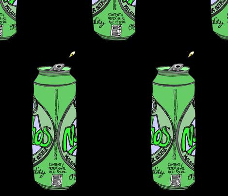mythos beer fabric by creation26 on Spoonflower - custom fabric