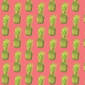 Pineapple Mania-Vintage Pink