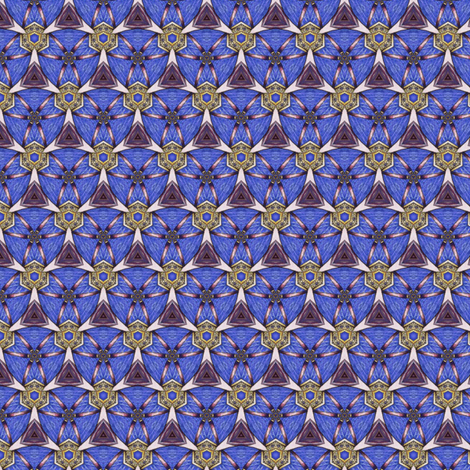 Bandar's Caltrops fabric by siya on Spoonflower - custom fabric