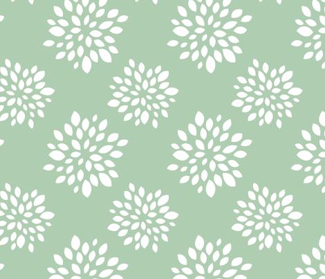 Robin Succulent fabric by m0dm0m on Spoonflower - custom fabric