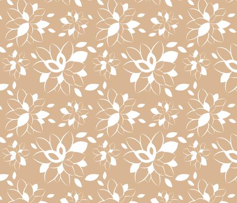 Rose Bloom fabric by m0dm0m on Spoonflower - custom fabric