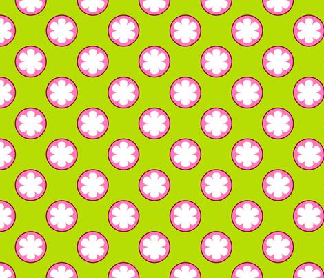 Mangosteen Fruit fabric by nekineko on Spoonflower - custom fabric