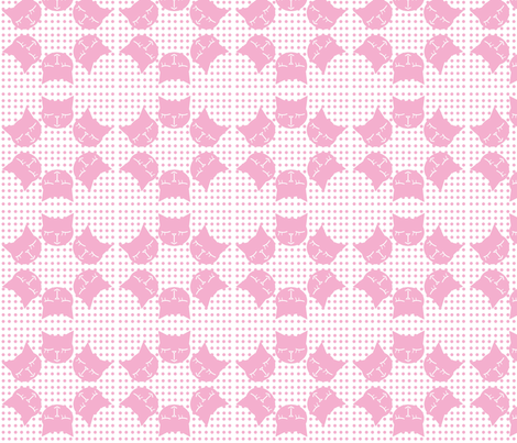 6Gattini Pois All Pink fabric by gaia_segattini on Spoonflower - custom fabric