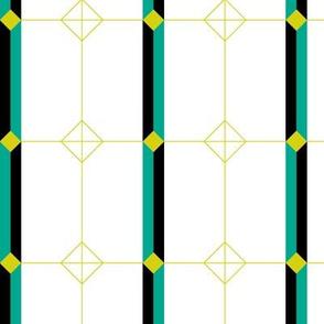 Deco Geometric Stripe