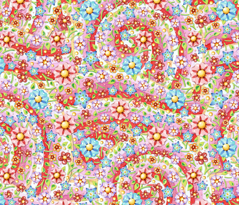 Millefiori Candy Swirls fabric by patriciasheadesigns on Spoonflower - custom fabric