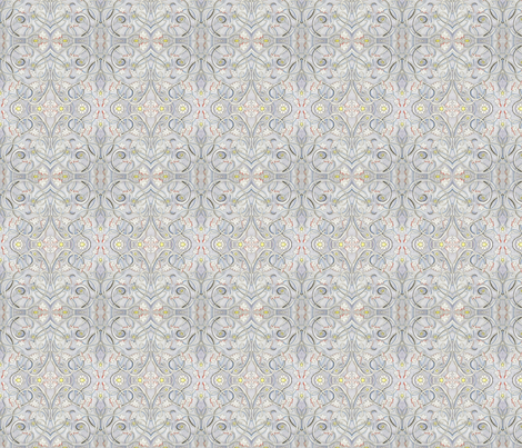 Soft Art Deco fabric by rennata on Spoonflower - custom fabric