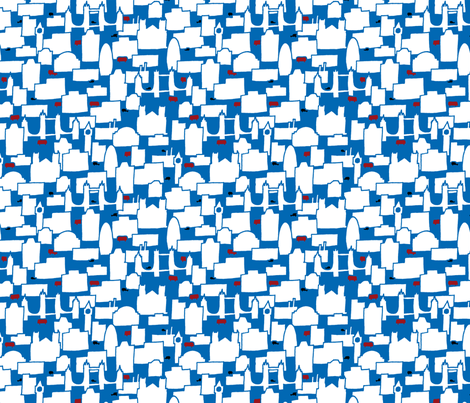 Some Cities: London fabric by leighr on Spoonflower - custom fabric