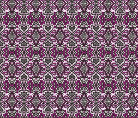 Casino Lace fabric by siya on Spoonflower - custom fabric