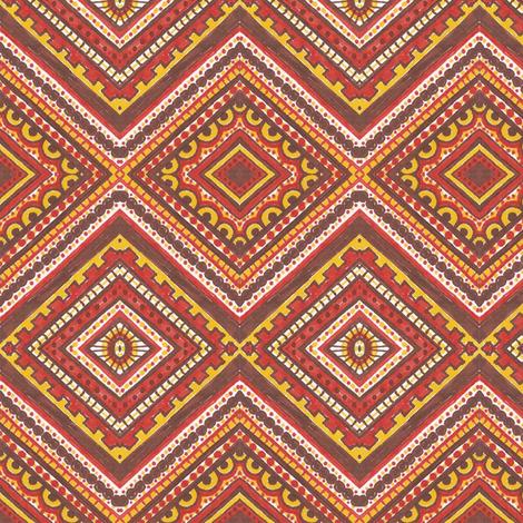 Spicy Macaroni fabric by siya on Spoonflower - custom fabric