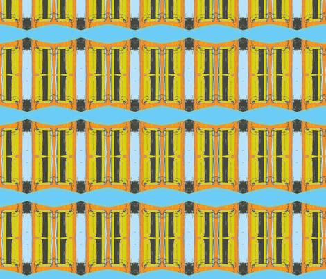 Venetian Window fabric by olivemlou on Spoonflower - custom fabric