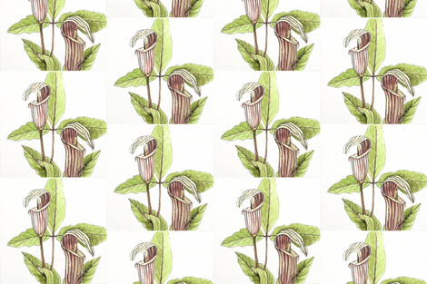 Woodland Flowers fabric by betweentheweeds on Spoonflower - custom fabric