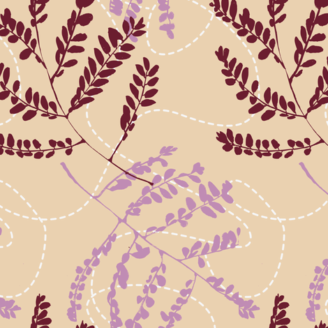 Foliage in Flight fabric by gsonge on Spoonflower - custom fabric