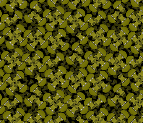 gas masks fabric by hannafate on Spoonflower - custom fabric