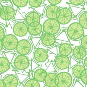 Baby Bicycle Lime