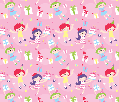 Party Party fabric by indescribble on Spoonflower - custom fabric