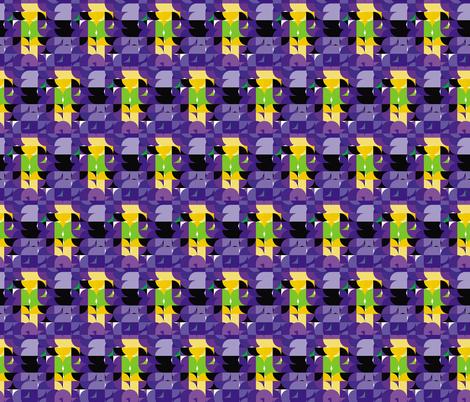 Art Deco 7, S fabric by animotaxis on Spoonflower - custom fabric