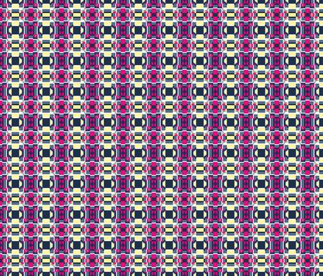 Art Deco Tiles 1, S fabric by animotaxis on Spoonflower - custom fabric