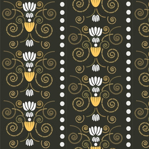 Multi-Damask - Baroque Dark
