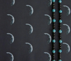 Alien Moon in Black © Gingezel 2012