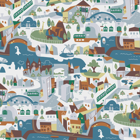 Basel (one day) fabric by theboerwar on Spoonflower - custom fabric