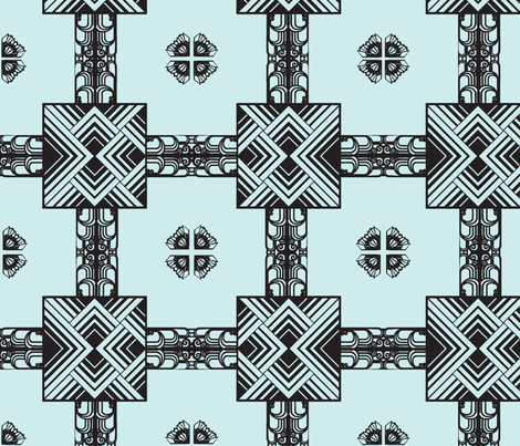 art_deco-ch-ch fabric by 2reneevk on Spoonflower - custom fabric