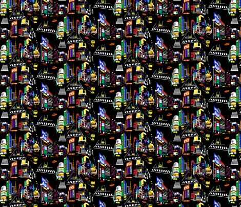 Tokyo fabric by minimiel on Spoonflower - custom fabric