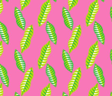 Mangosteen Leaves fabric by nekineko on Spoonflower - custom fabric
