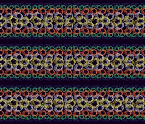 Floral_Scarf fabric by hlbyatt on Spoonflower - custom fabric