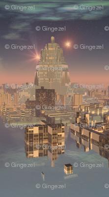 Rujjipet Alien Landscape© Gingezel™ 2012