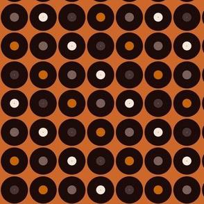 Vinilica Orange & Brown