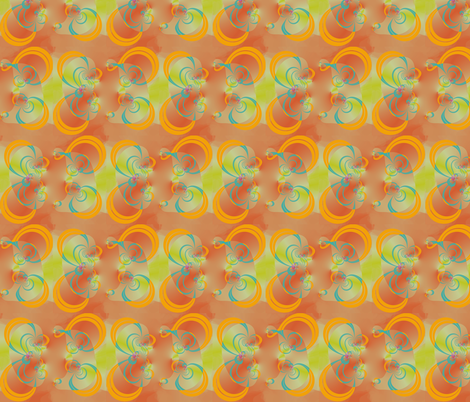Dancing Eights fabric by eclectic_house on Spoonflower - custom fabric