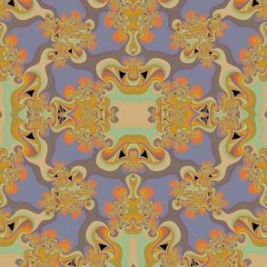 1960's style twirls