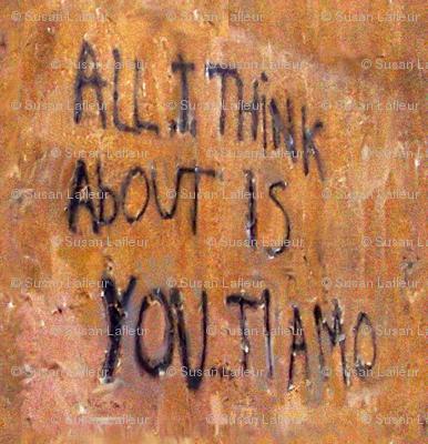 Graffiti Ti amo