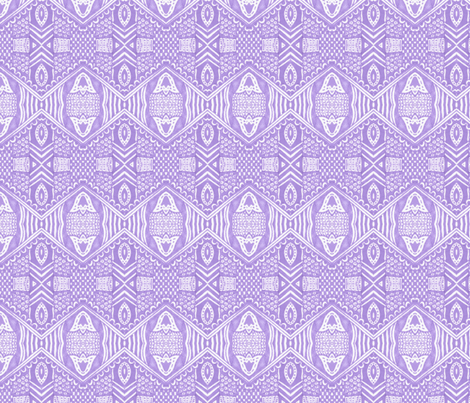Lilac Attic fabric by siya on Spoonflower - custom fabric